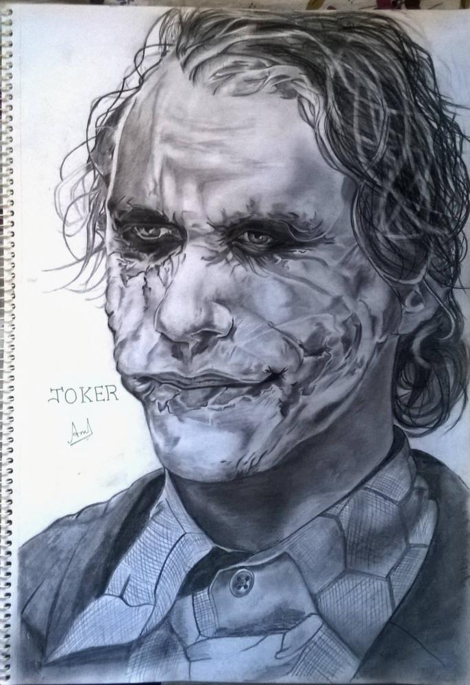 Heath Ledger par anilnair57